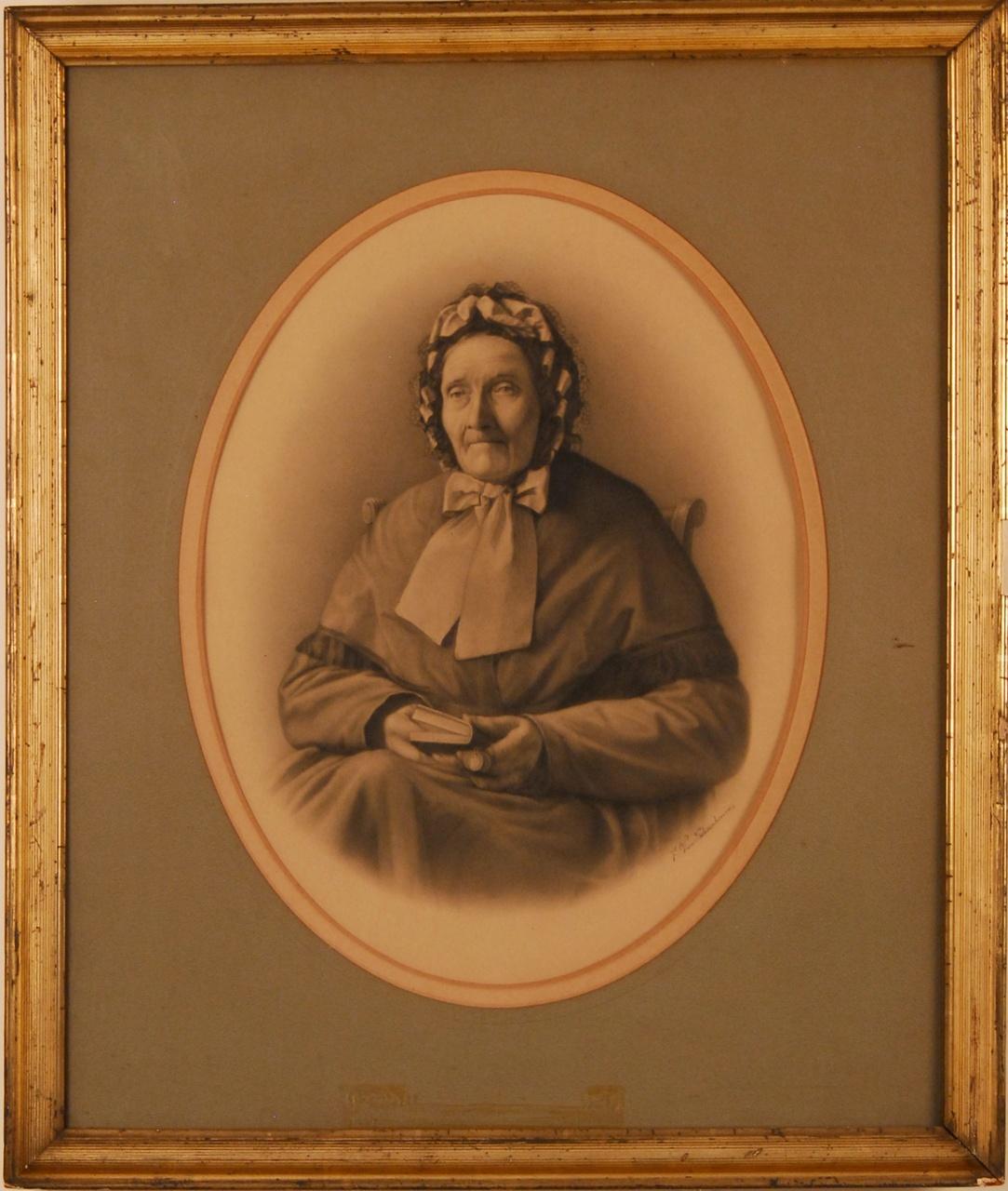 Portret van mevrouw Cuypers-Bex, moeder van Dr. P.J.H. Cuypers