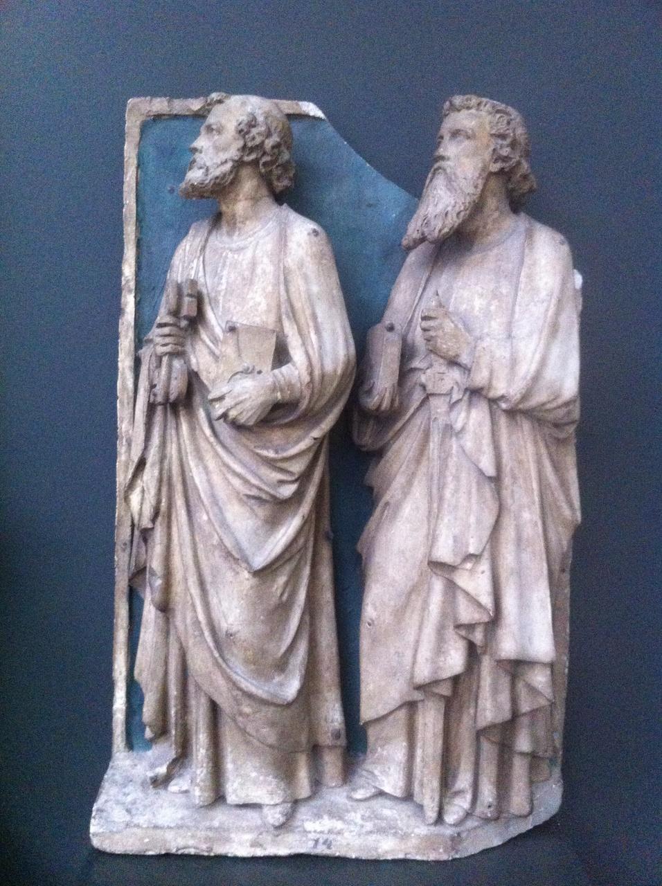 Twee heiligen: St. Petrus en St. Paulus