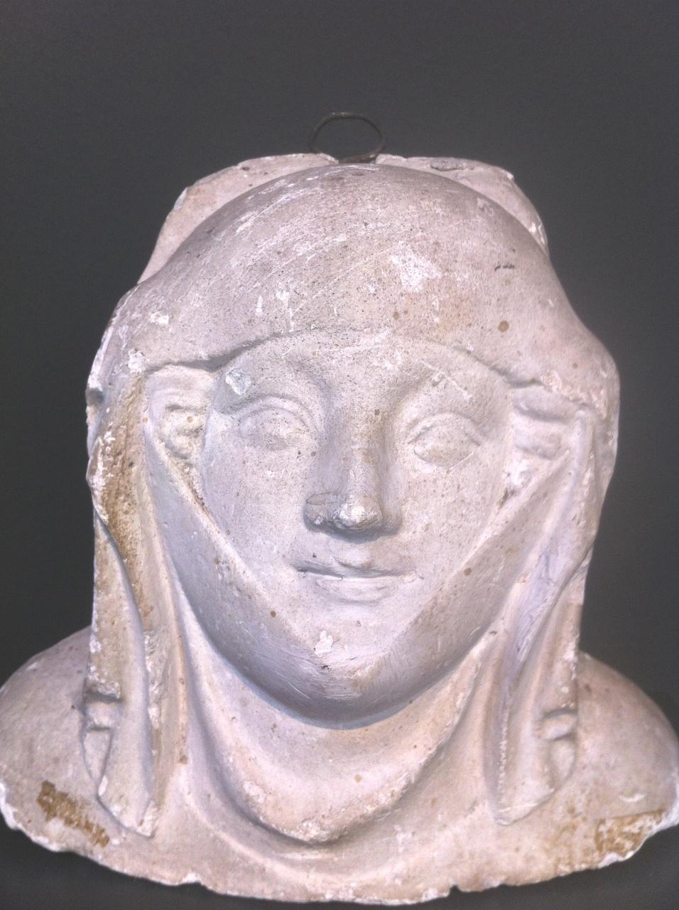 Middeleeuws vrouwenhoofd