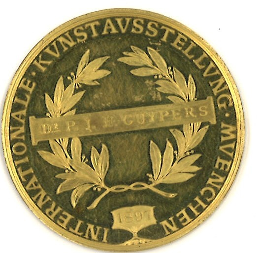 Medaille van de Internationale kunsttentoonstelling in München 1897