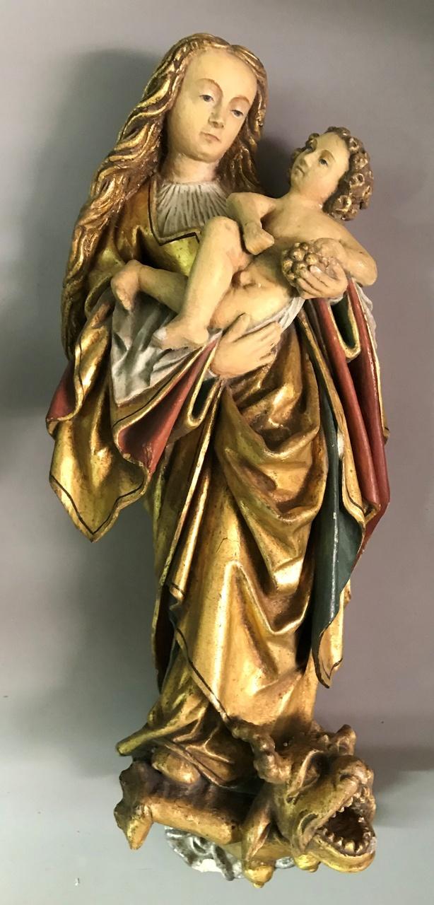 Maria den draak vertredend