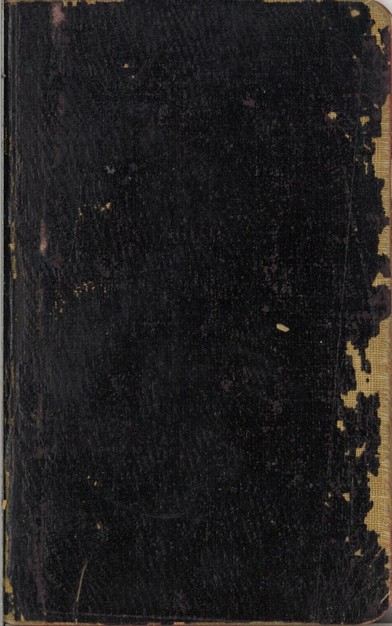 Notitie- en schetsboekje