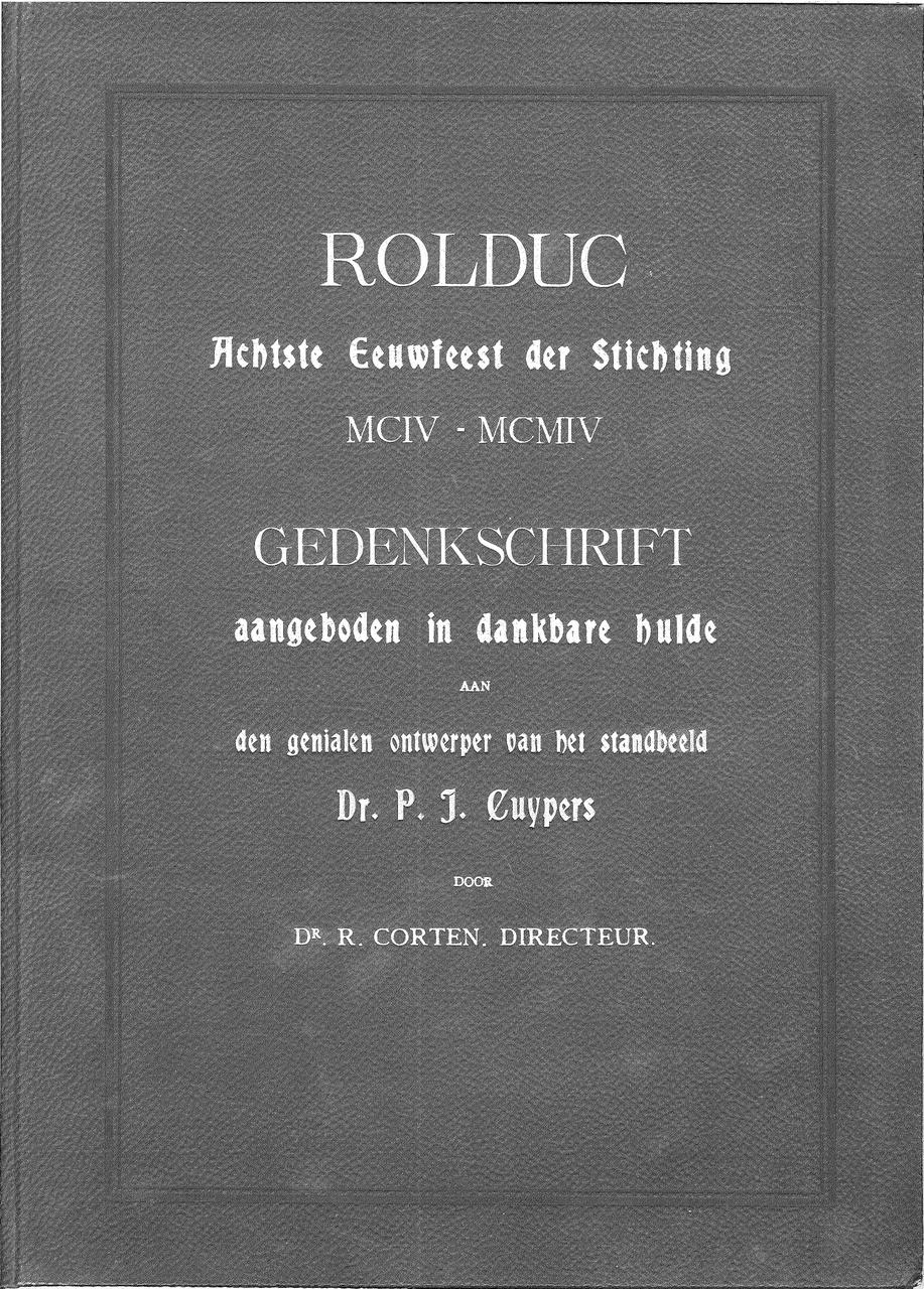 Gedenkschrift Rolduc