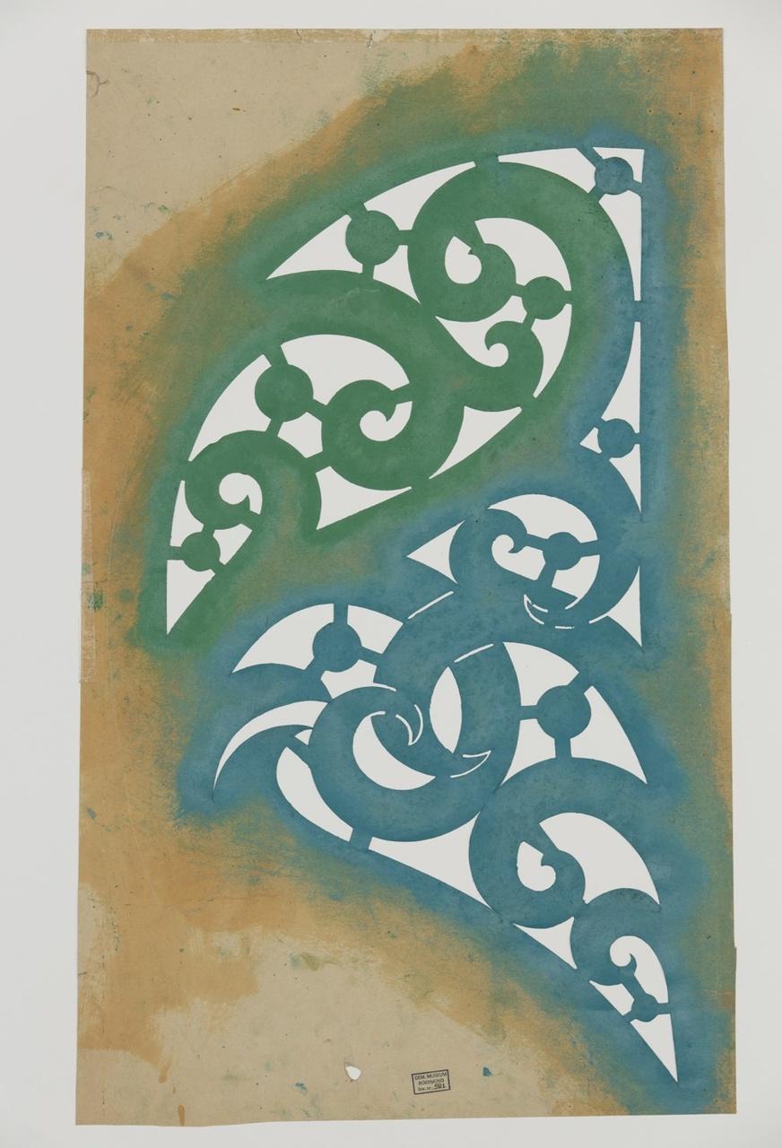 Sjabloon voor muurschilderwerk
