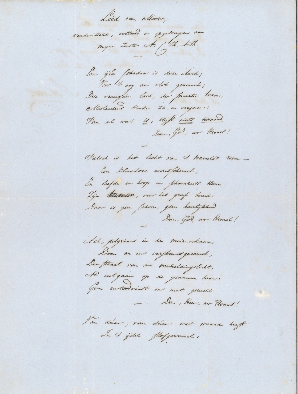 Lied van Moore