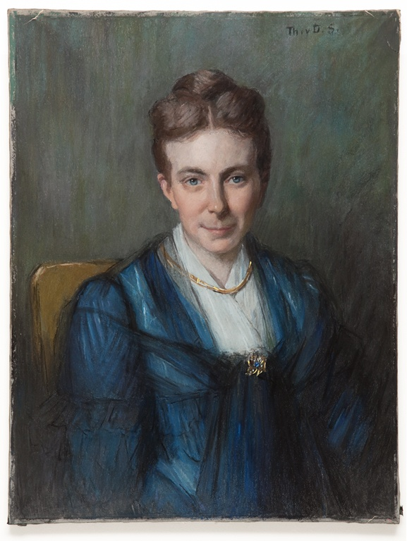 Portret van Catharina Felicia Rosalia Alberdingk Thijm-Cuypers