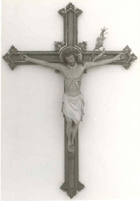 Gepolychromeerd kruisbeeld