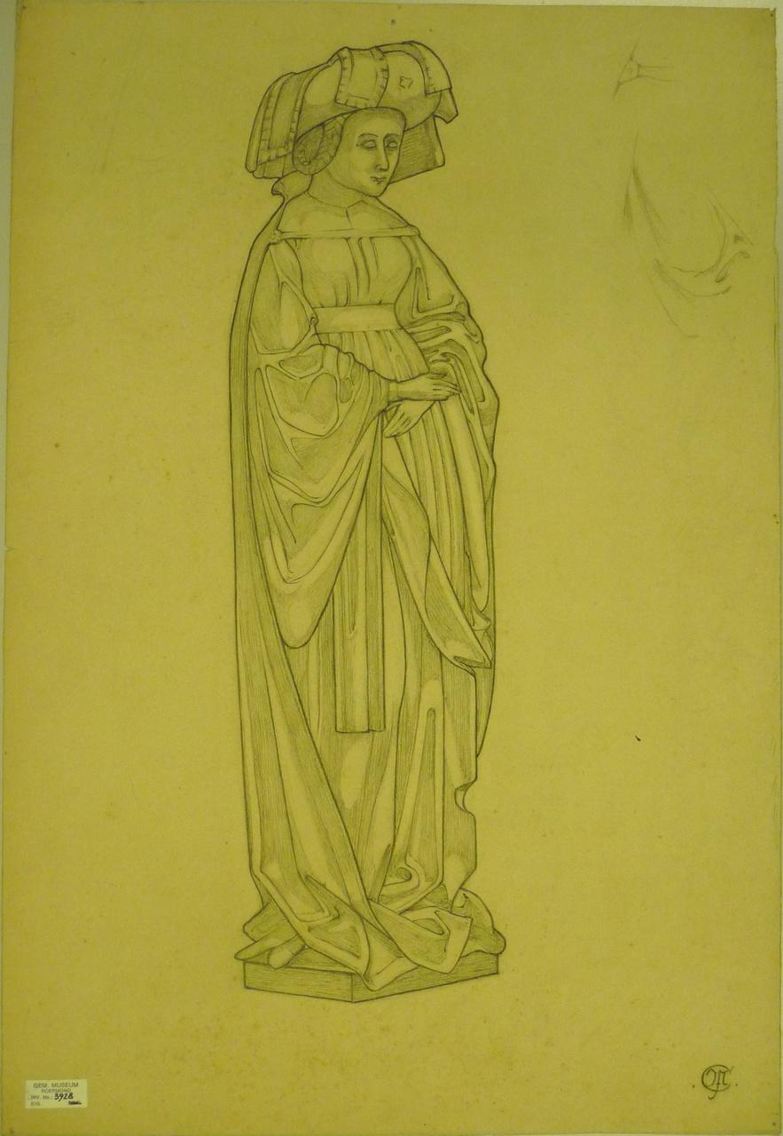 Schets heiligenbeeld