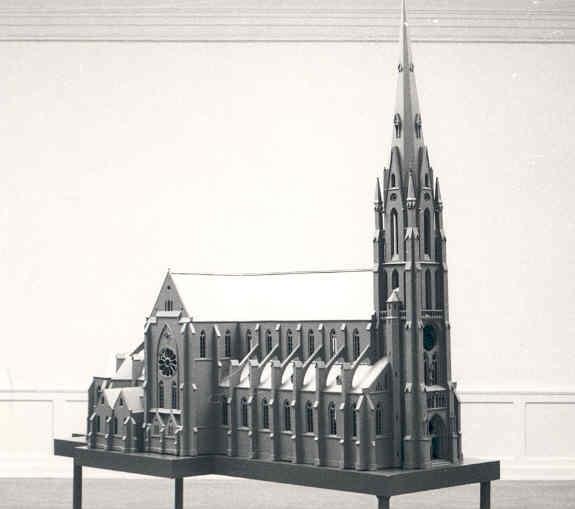 Maquette van de Lambertuskerk te Veghel