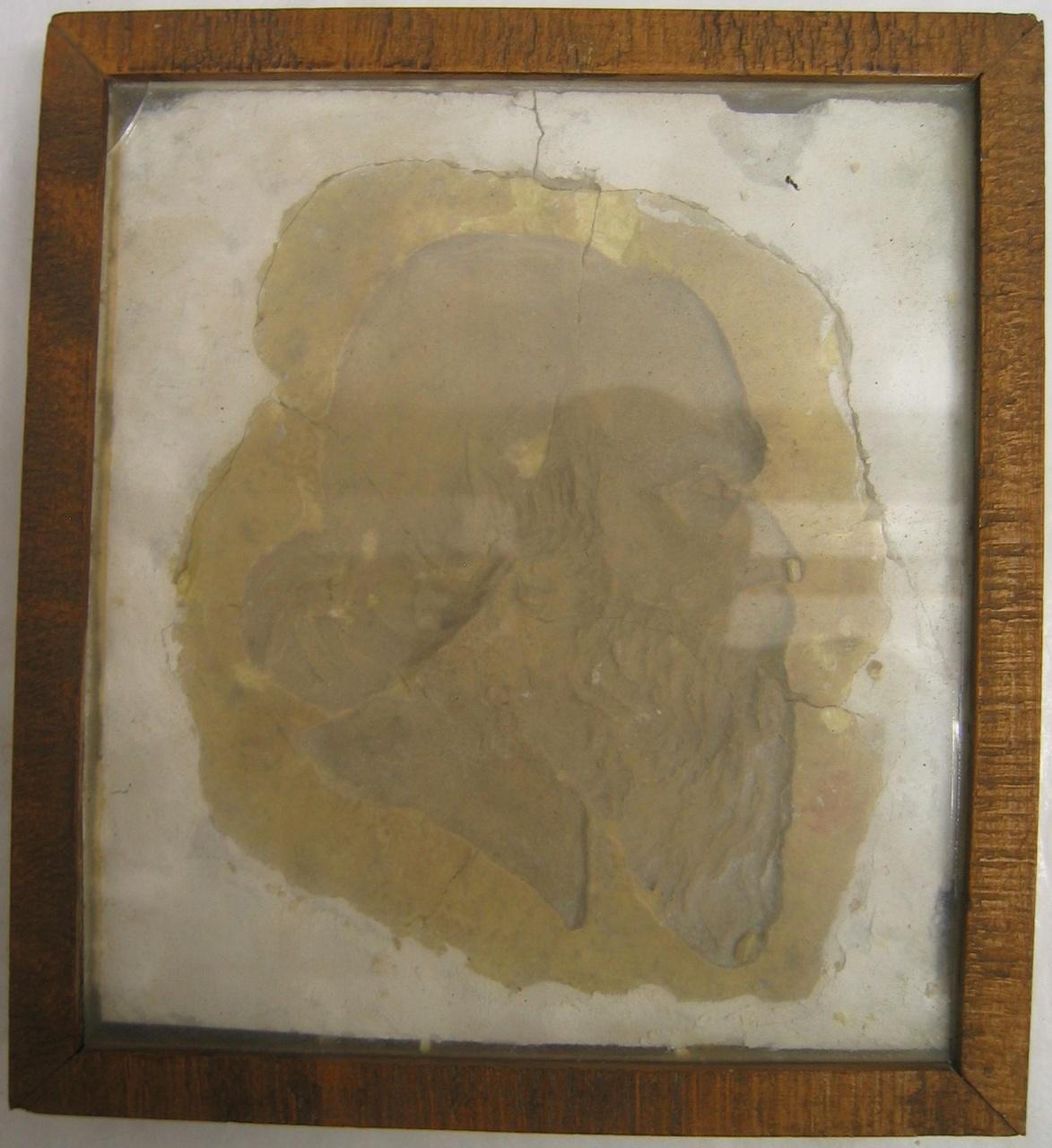 Vorm voor marsepein en/of suikerwerk, voorstellende hoofd van P.J.H. Cuypers