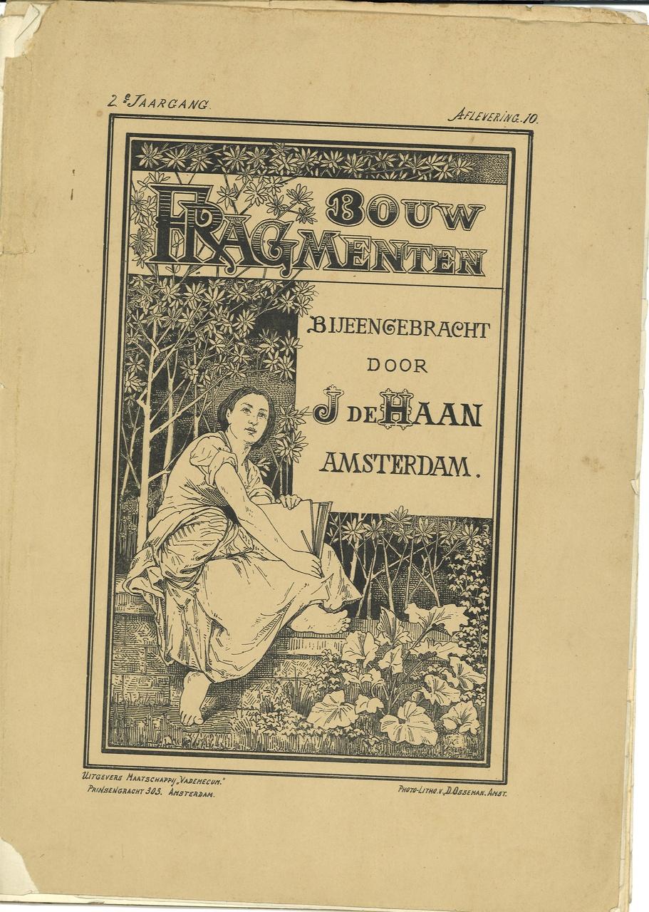 Bouwfragmenten, tijdschrift met verzamelde artikelen en (bouw)tekeningen