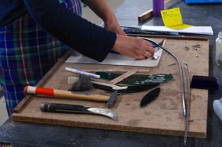 Duik in de praktijk van het glasatelier Nicolas